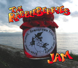 The RabbleBerries 'Jam' CD cover.